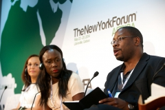 Jon Gosier gives remarks at New York Forum Africa 2015